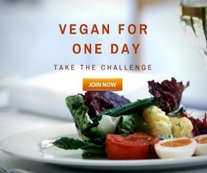 vegan for one day challenge